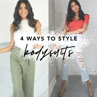 4 Ways To Style a Bodysuit | Shellsea