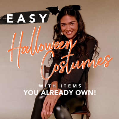 Easy Halloween Costumes with Items you Already Own