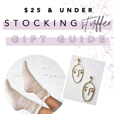 $25 & UNDER Stocking Stuffer Guide