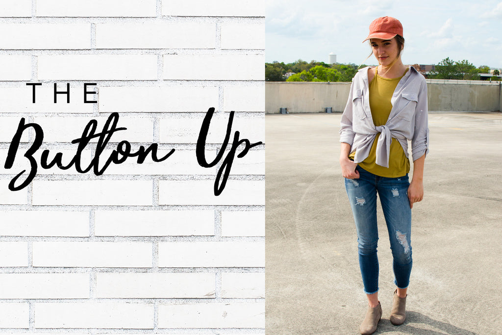 the button up | SHELLSEA BLOG