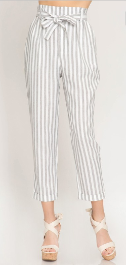 Call It Confidence Striped Pants - Shellsea