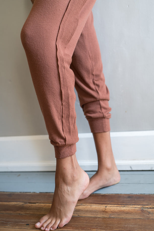 Making Time Joggers Brown