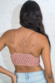 In The Spirit Bralette Mauve