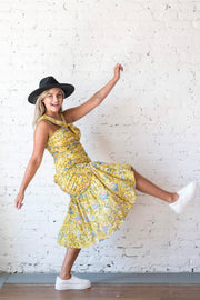 Can I Have This Dance Dress Yellow