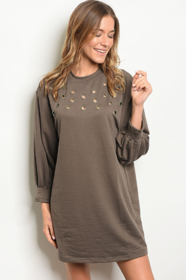 Holier Than You Thought Tunic Gray - Shellsea
