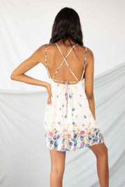 Daisies For Days Mini Dress White
