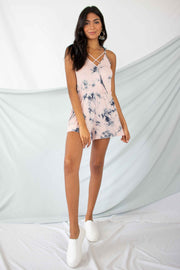 No More Worries Tie Dye Romper