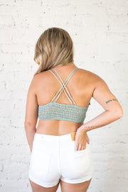 One of Those Daisies Bralette Sage