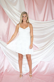 Say I Love You Lace Dress White