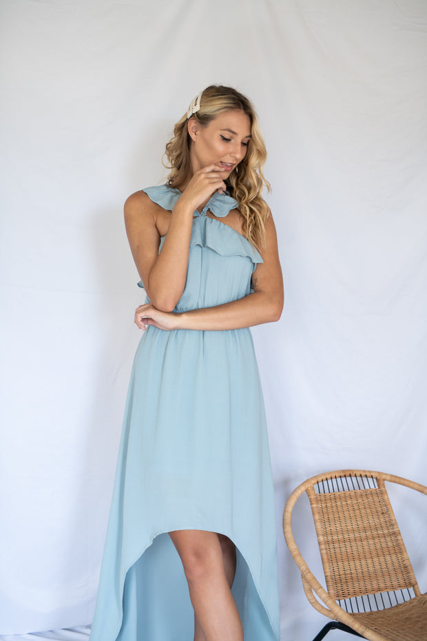 Life To Live Maxi Dress Light Blue