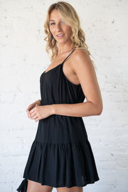 Hold Onto Rope Dress Black