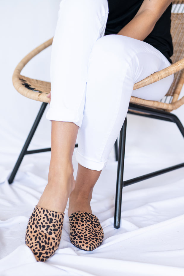 Sleek The Truth Mules Leopard