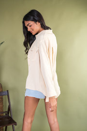 New Classic Cargo Top Taupe