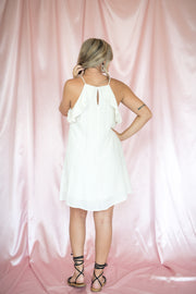 On Route Sleeveless Dress Ivory