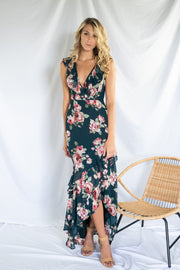 Timelessly Lovable Floral Maxi Dress