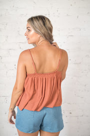 Forget About You Tank Top Terracotta