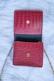 Alligator Skin Mini Purse