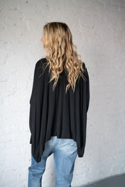 Take Me On Kimono Black