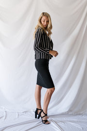 The Stripe Thing To Do Blazer