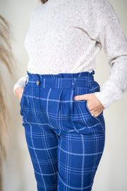 Off The Grid Cropped Pants Navy