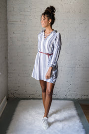 Summer Cool Striped Dress