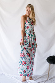 Getting Over You Maxi Dress White