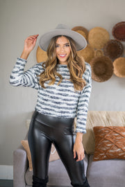 On Your Knit List Sweater Black