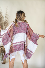 Cabin Fever Shawl Wine