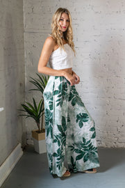 To The Tropics Wide Leg Pants