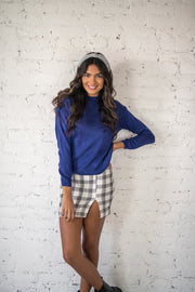 Bound To Be Bold Sweater Blue