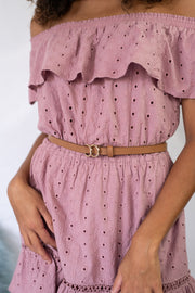 What A Dream Off The Shoulder Dress