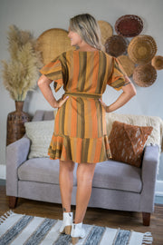 Spice Up Your Life Striped Dress