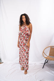 Plant Yourself Floral Maxi Dress