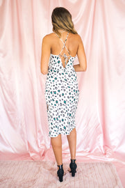 Party Animal Midi Dress White