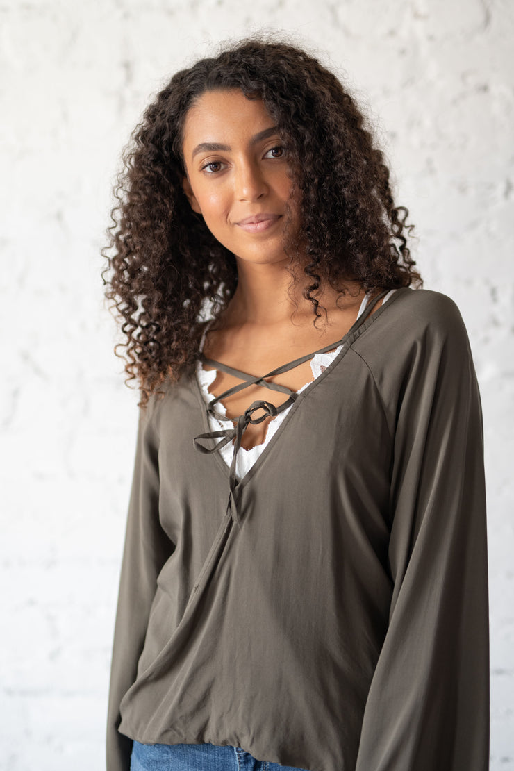 For The Thrill Of It Top Olive