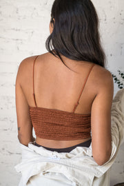Daily Luxe Lace Bralette Terracotta