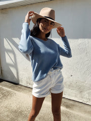 Casual Keeper Top Blue