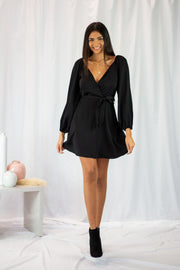 Shape of My Heart Dress Black
