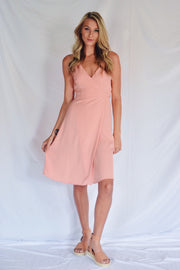 Pink Outside The Box Wrap Dress