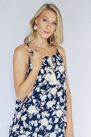 Flower By Flower Dress Navy