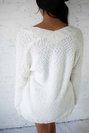 Cozy Moment Cardigan Ivory