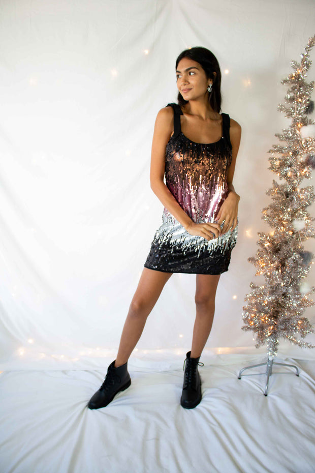 Sprinkle of Sparkle Sequins Dress