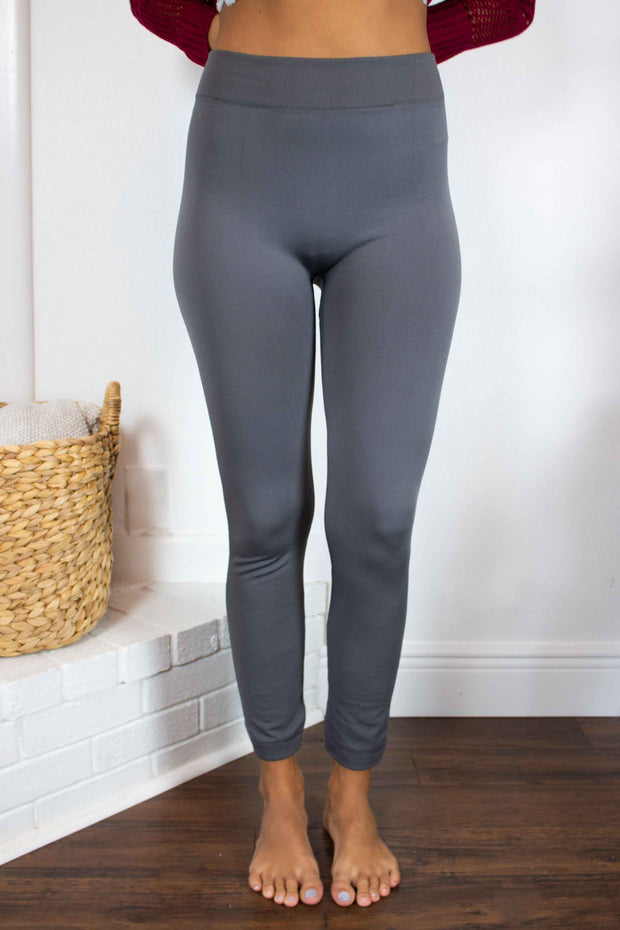 Great Lengths High Waisted Leggings Charcoal