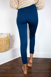 Great Lengths High Waisted Leggings Navy