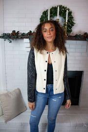 Fur The Win Jacket Ivory