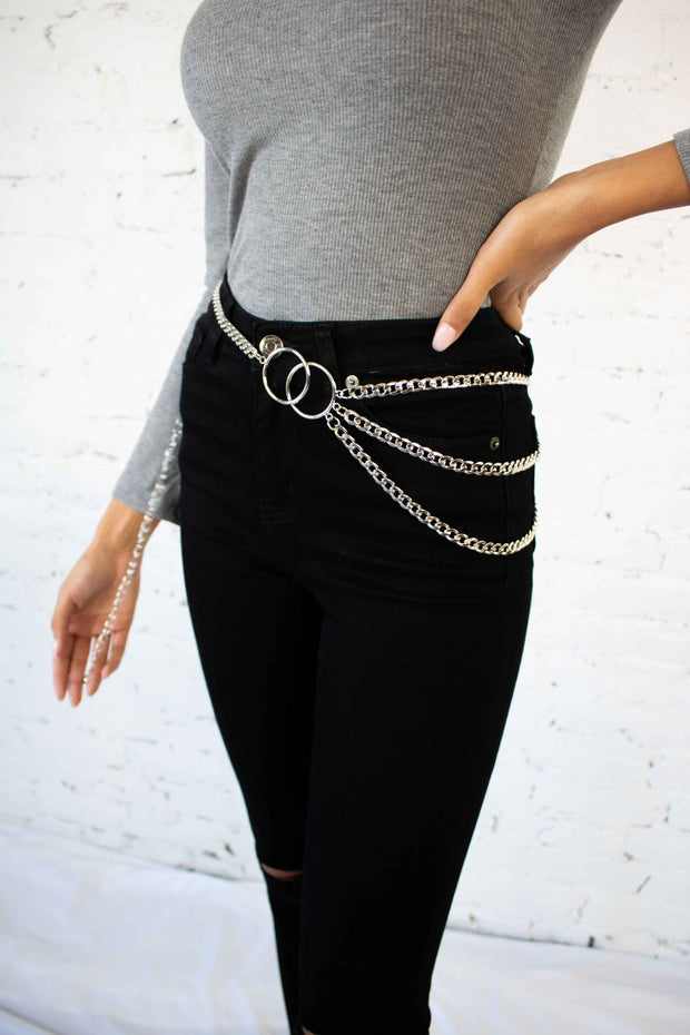 Layered Side Chain Belt