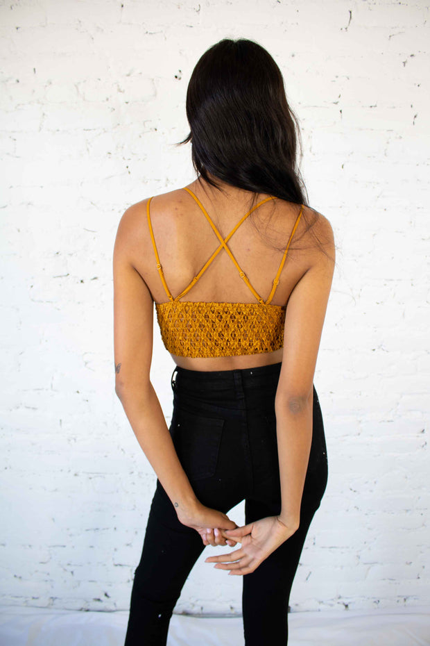 In The Spirit Bralette Marigold