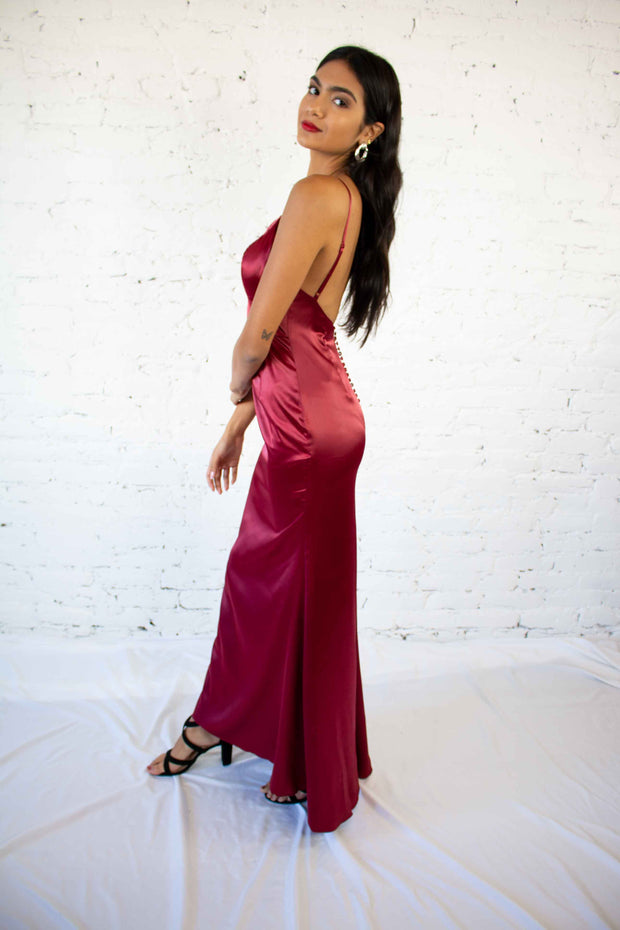 Luxe Be A Lady Maxi Dress Red