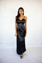 Luxe Be A Lady Maxi Dress Black