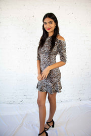 On The Wild Side Leopard Dress